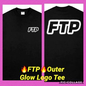 🔥FTP🔥 OUTER GLOW LOGO TEE SIZE XL - NWT
